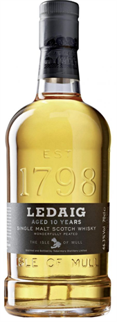 Ledaig Scotch 10 Year 86@